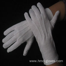 ceremonial high quality white cotton gloves